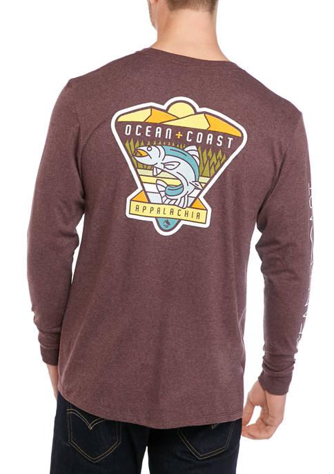 Ocean & Coast® Mens Long Sleeve Appalachia Trout