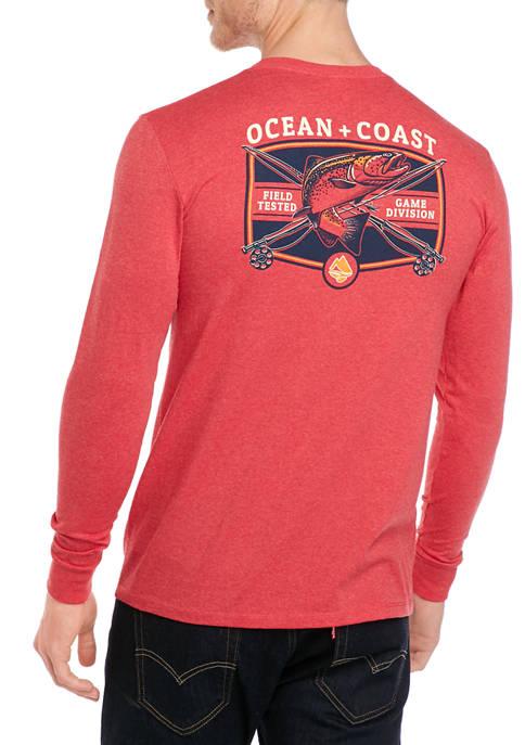 Ocean & Coast® Mens Long Sleeve Outdoor Sports