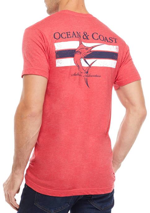 Saltwater Adventure Graphic T-Shirt