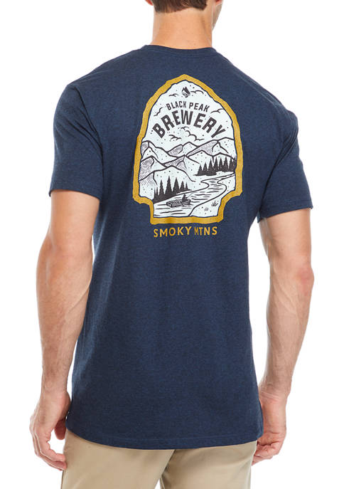 Ocean & Coast® Short Sleeve Black Peak Graphic