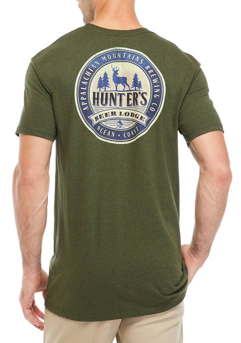 Short Sleeve Cotton Hunters Lodge T-Shirt