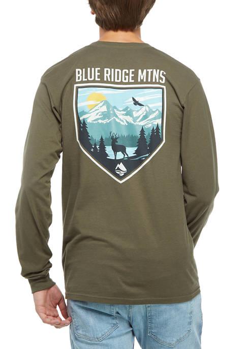 Long Sleeve Blue Ridge Mountains Shirt