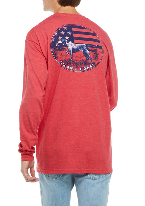 Long Sleeve American Hound T-Shirt