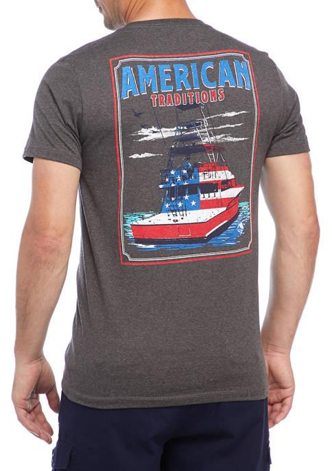 Ocean & Coast® Patriot Tradition Short Sleeve Graphic