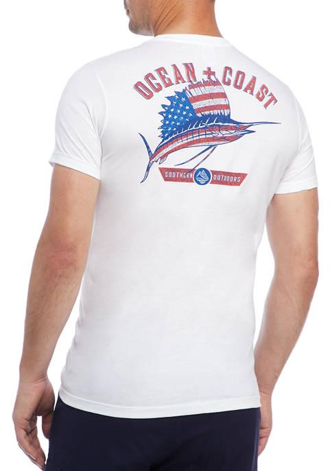 Ocean + Coast® Sail Graphic T-Shirt