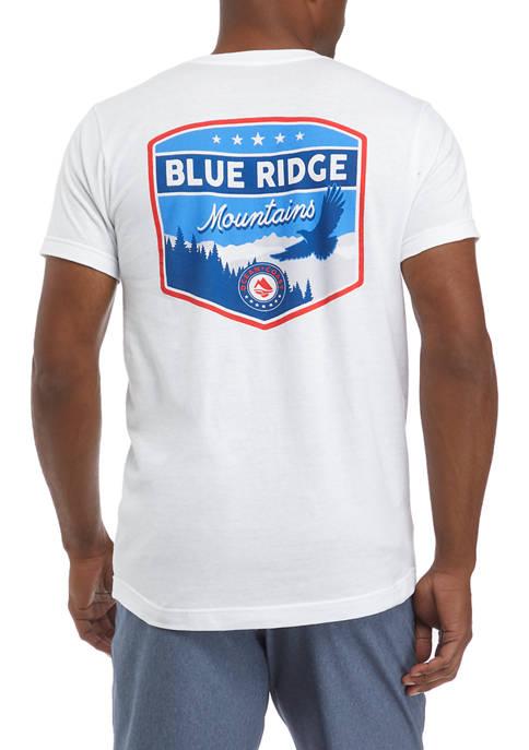 Ocean + Coast® Short Sleeve Blue Ridge Mountains