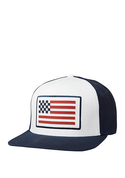 FOX RACING Patriotic Snapback Baseball Cap