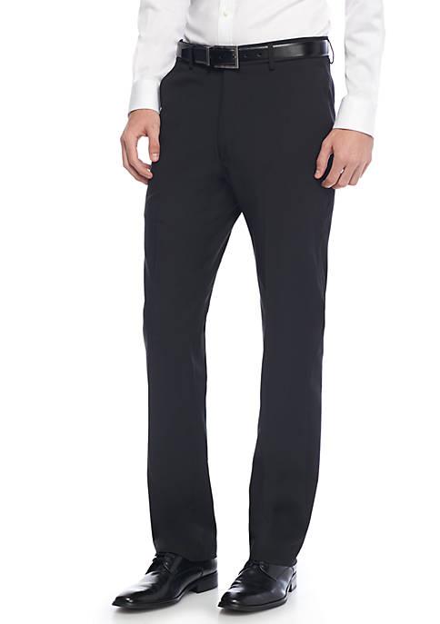 Stretch Flat Front Pants