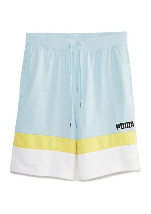 Celebration Color Block Shorts