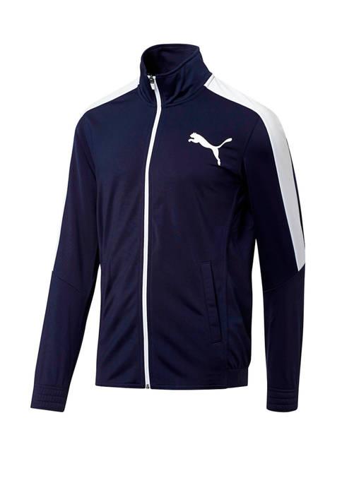 PUMA Mens Contrast Track Jacket