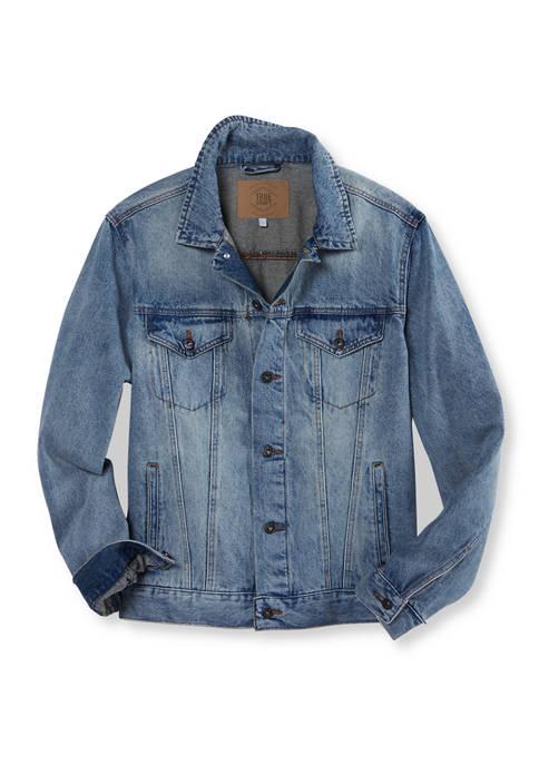 Light Wash Denim Trucker Jacket