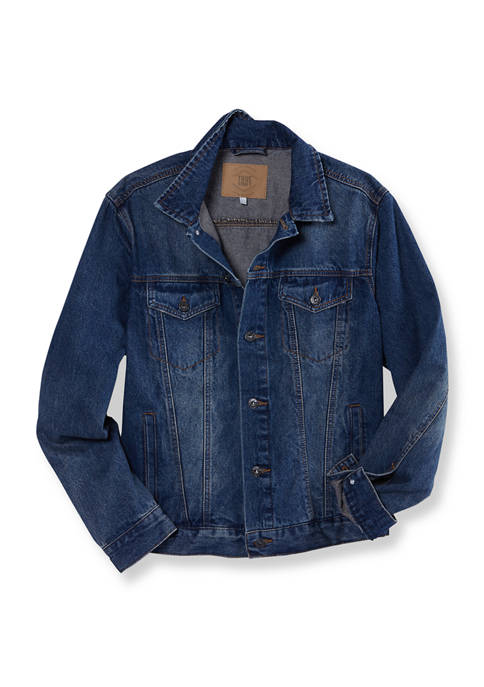 Medium Wash Denim Trucker Jacket