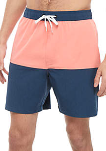 Ocean & Coast® Colorblock Swim Trunks