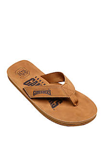 FOCO South Carolina Gamecocks Contour Distressed Flip Flops