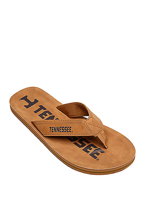 Tennessee Volunteers Contour Distressed Flip Flops