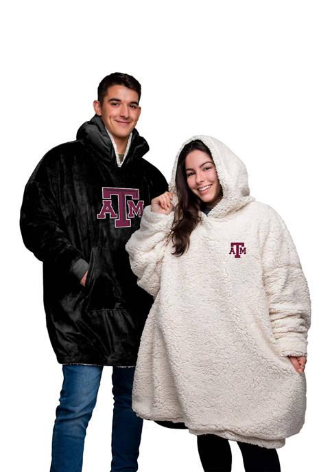 Team Beans NCAA Texas A&M Aggies Oversized Sherpa
