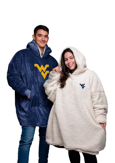 Team Beans NCAA West Virginia Mountaineers Oversized Sherpa