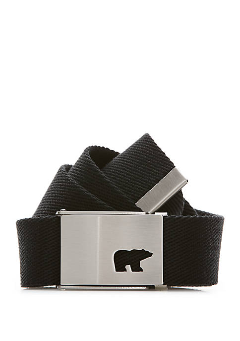 JACK NICKLAUS Logo Web Golf Belt