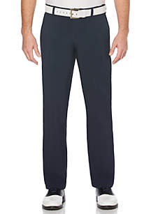 JACK NICKLAUS Flat Front Solid Active Flex Golf Pants