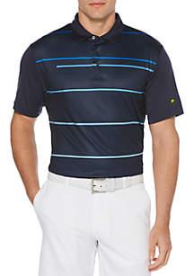 JACK NICKLAUS Large Energy Stripe Short Sleeve Golf Polo Shirt
