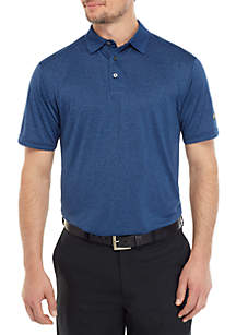 JACK NICKLAUS Short Sleeve End On Fine Line Polo Shirt