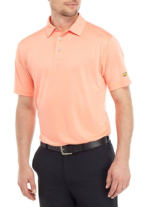 Short Sleeve End On Fine Line Polo Shirt