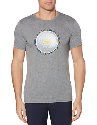 Jack Nicklaus Mens Short Sleeve Crew Neck Graphic T-Shirt