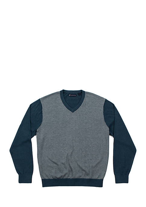 Oxford Wentworth Long Sleeve V-Neck Sweater