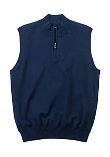 Oxford Barnsley Lined 1/4 Zip Sweater Vest