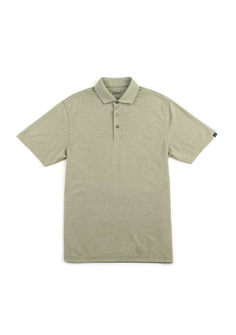 Oxford Haywood Short Sleeve Dri Pique Polo Shirt