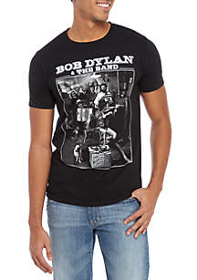 Philcos Bob Dylan and the Band Short Sleeve Shirt