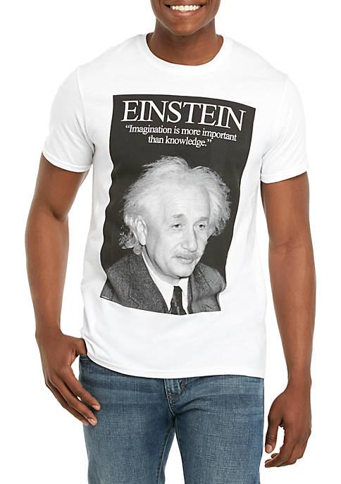 Einstein Screenprint T Shirt