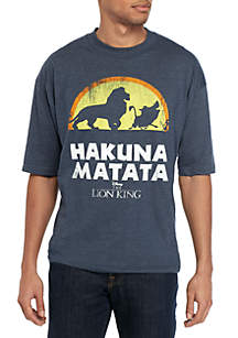 Fifth Sun™ Big & Tall Hakuna Matata Graphic T Shirt