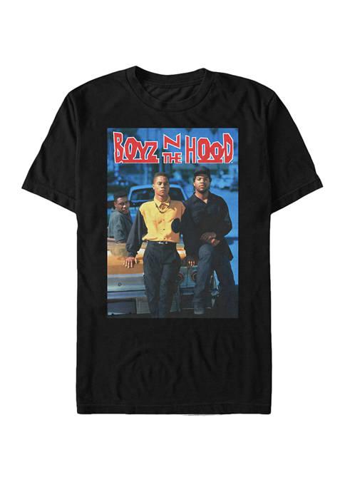 Big & Tall Boyz Poster Graphic T-Shirt