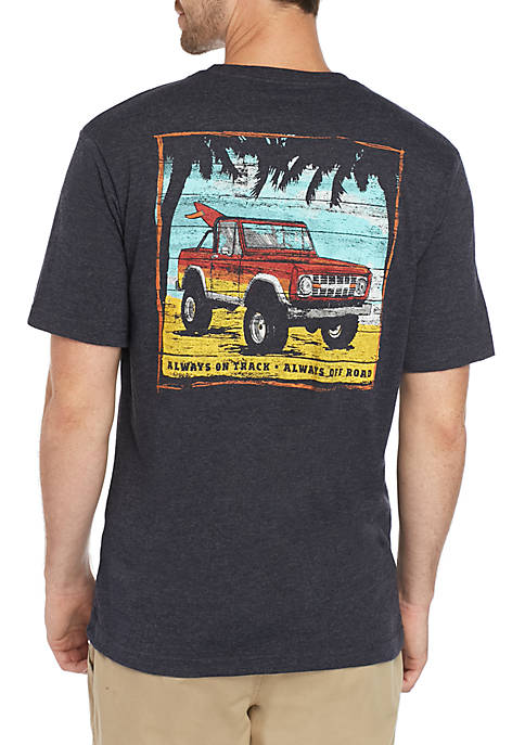 G.H. Bass & Co. Off Road Graphic T