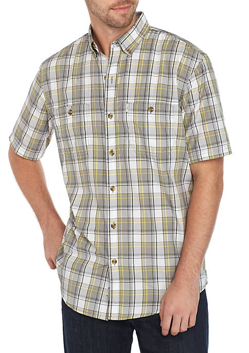 G.H. Bass & Co. Bluewater Bay Plaid Shirt