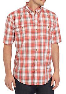 G.H. Bass & Co. Bluewater Bay Plaid Shirt