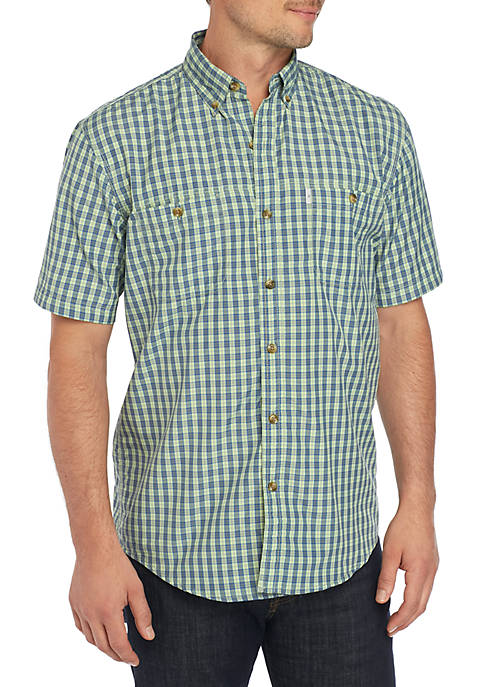 G.H. Bass & Co. Bluewater Bay Small Plaid