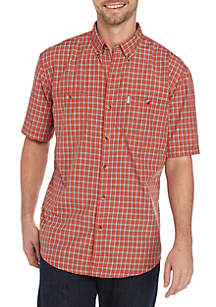 G.H. Bass & Co. Bluewater Bay Small Plaid Shirt
