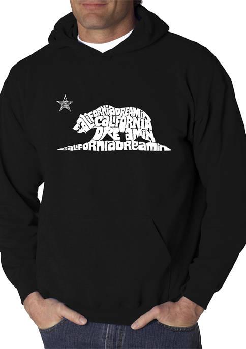 Word Art Hooded Sweatshirt - California Dreamin