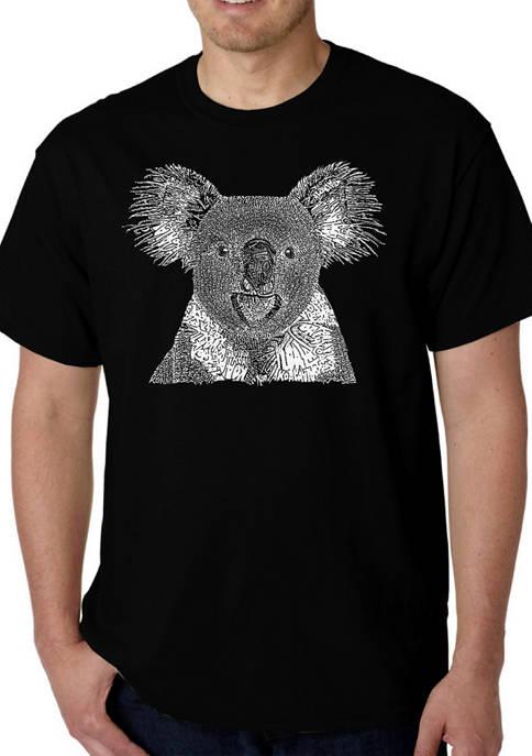 Word Art T-Shirt - Koala