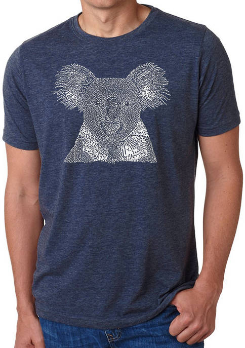 Premium Blend Word Art T-Shirt - Koala