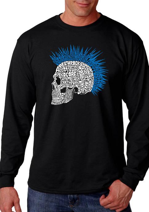 LA Pop Art Word Art Long Sleeve T-Shirt
