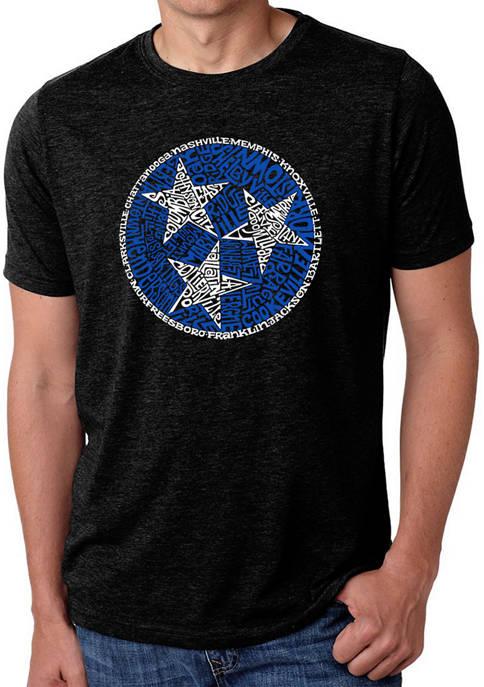 Premium Blend Word Art T-Shirt - Tennessee Tristar