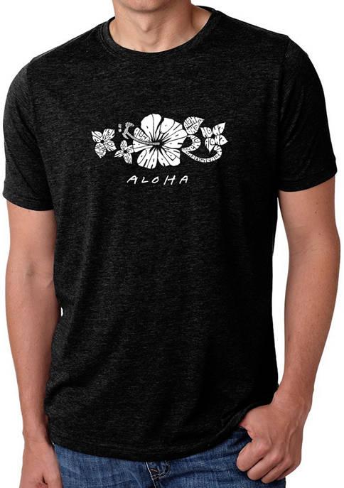 LA Pop Art Premium Blend Word Art Aloha
