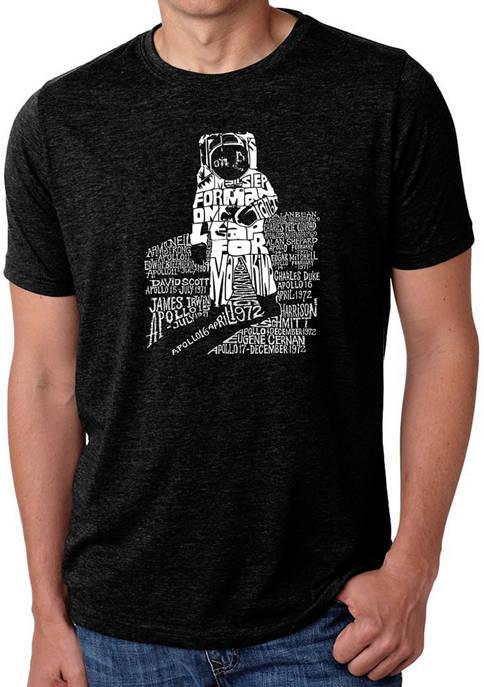 LA Pop Art Premium Blend Word Art Astronaut