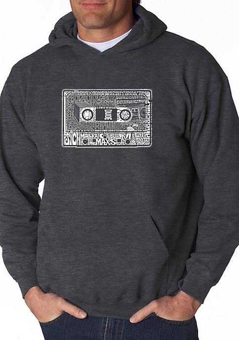Word Art Hooded Sweatshirt - The 80s
