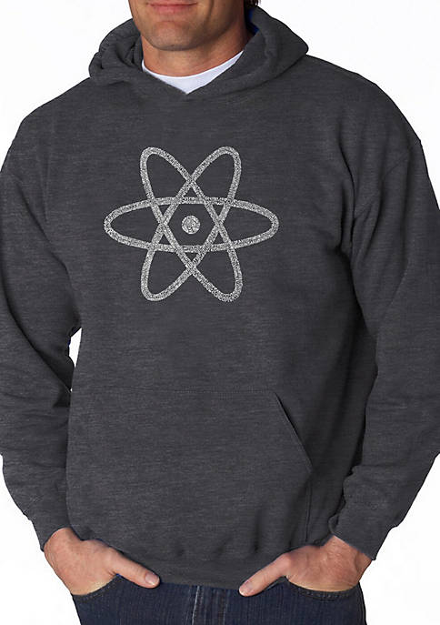 Word Art Hooded Sweatshirt - Atom