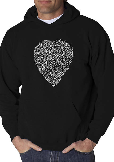 Word Art Hooded Sweatshirt - William Shakespeares Sonnet 18