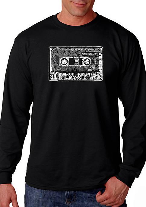 LA Pop Art Word Art Graphic T-Shirt –
